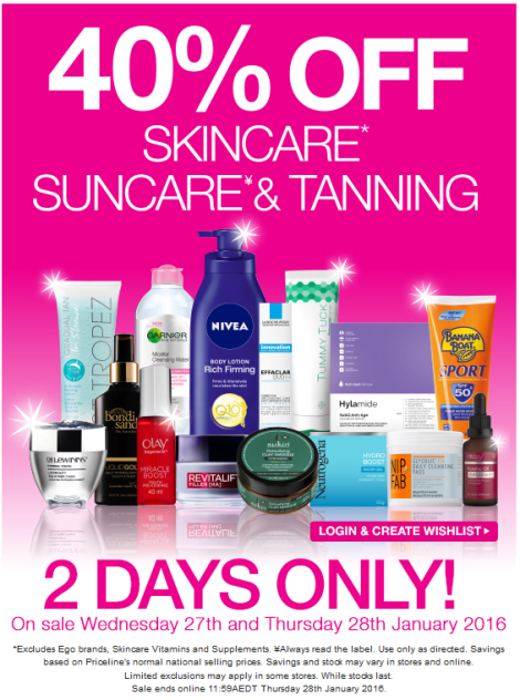 What To Buy At The Priceline 40% Off Skincare, Suncare & Tanning Sale This Week!