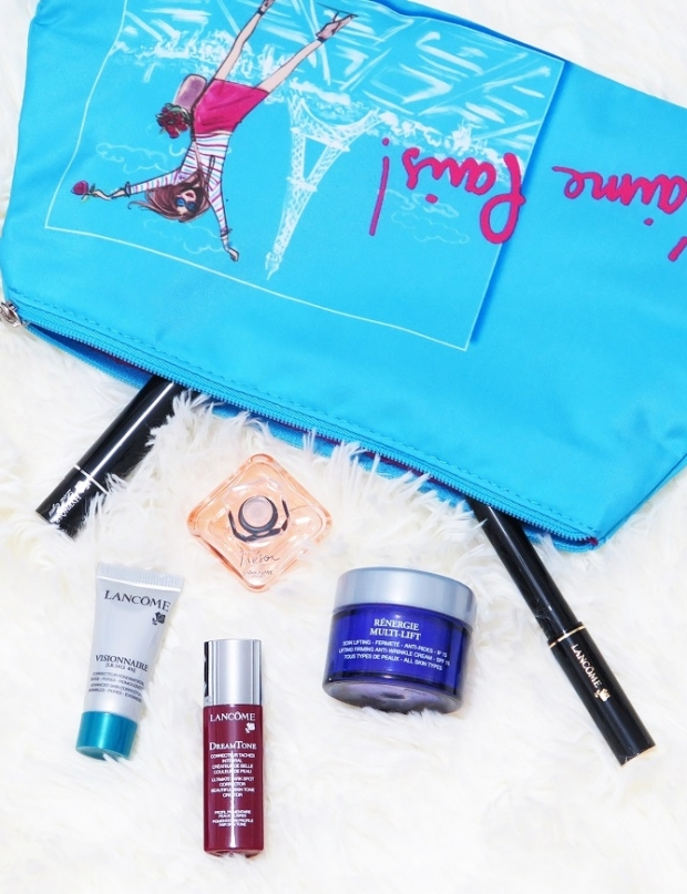 lancome makeup skincare perfume hypnose doll eyes tresor visionnaire dreamtone serum renergie multi lift lancome artliner review swatches
