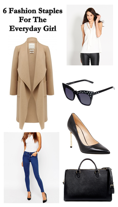 6 fashion staples wardrobe essentails for the everyday girl