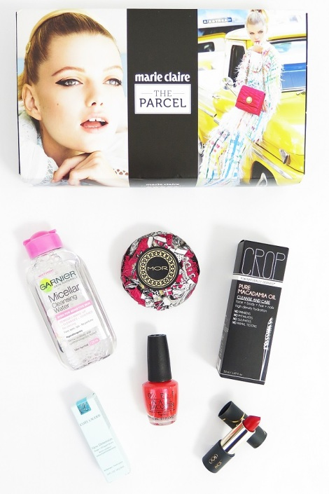 the parcel by maire claire autumn edition garnier micellar water mor triple milled soap estee lauder new dimension shape and fill serum opi nail polish crop pure macadamia oil gilded cage unleased lipstci kreview swatches