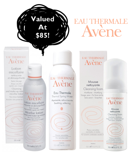 avene tried and tested blog giveaway