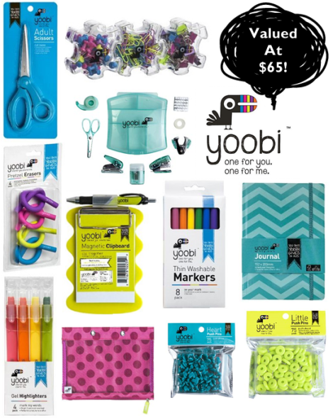 yoobi tried and tested blog giveaway