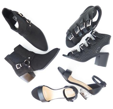 asos-haul-truffle-collection-clear-heel-strap-sandal-multi-buckle-heel-mid-western-buckle-boot-high-heels-shoes
