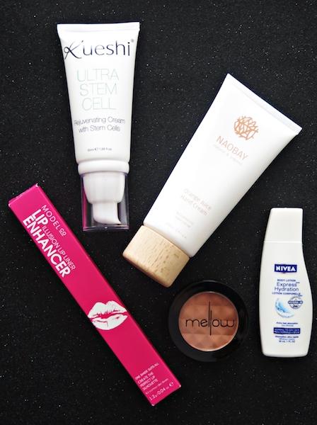 lust-have-it-december-2016-womens-beauty-box-kueshi-modelco-naobay-nivea-mellow-makeup-skincare